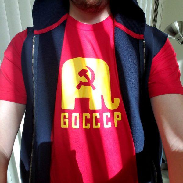 GOCCCP T-Shirt - Original - Feb 2018